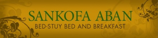 Sankofa Aban - Bed-Stuy Bed and Breakfast Logo
